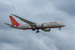 Air India planieren Lizenzfreie Stockfotos