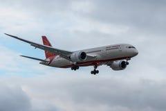Air India planieren Stockfotografie