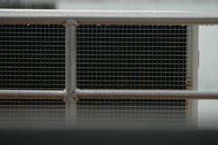 Air inlet into industrial air conditioning Royalty Free Stock Photography