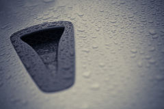 Air intake scoop Stock Images