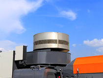 Air intake of the truck Royalty Free Stock Image