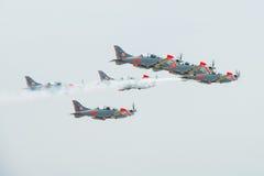 Air international slovaque Fest 2012, Slovaquie image libre de droits