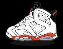 Air Jordan 6 Imágenes de archivo libres de regalías