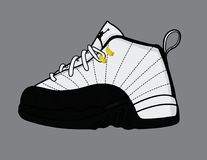 Air Jordan 12 royalty free stock photos