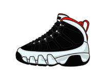 Air Jordan 9 stock image