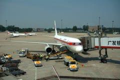 Air Koryo, Pequim, China Imagens de Stock