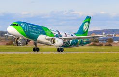 Air Lingus photo libre de droits