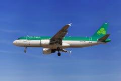 Air Lingus Airbus A320 Imagens de Stock Royalty Free