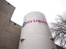Air Liquide roślina w Berlin, Niemcy zdjęcie royalty free