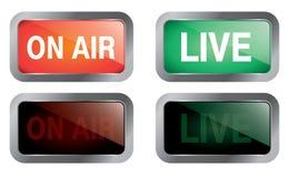 air live Royaltyfria Bilder