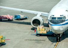 Air logistics stock images