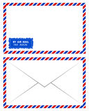 Air mail. Vector on white background Stock Photos