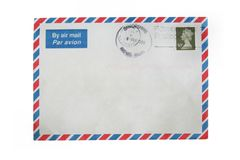 Free Air Mail Stock Photography - 960652
