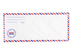 Air mail envelobe Royalty Free Stock Photography