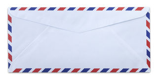 Air mail envelope Royalty Free Stock Image
