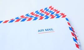 Air mail. Envelope Stock Photos
