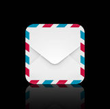 Air mail envelope icon Stock Photos