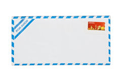 Air mail Envelope isolated. Royalty Free Stock Photo