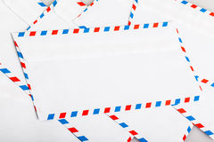 Air mail envelope Stock Image