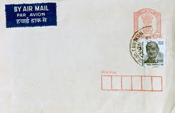 Free Air Mail From India Stock Images - 6979944