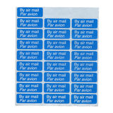Air mail labels Stock Image