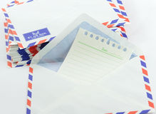 Air mail Royalty Free Stock Images