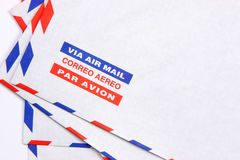 Air mail over view Royalty Free Stock Photography