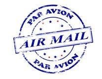 Air mail par avion. Rubber stamp with text air mail par avion inside,  illustration Stock Images