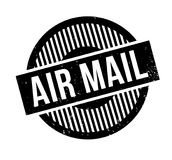 Air Mail rubber stamp Stock Photos