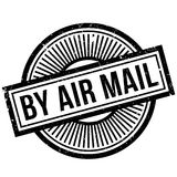 By Air Mail rubber stamp Stock Photo