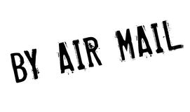 By Air Mail rubber stamp Royalty Free Stock Photography