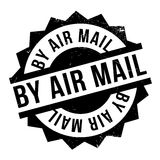 By Air Mail ruuber stamp Royalty Free Stock Photo