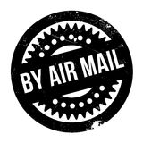 By Air Mail ruuber stamp Royalty Free Stock Image