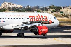 Air Malta Airbus A320 stock image