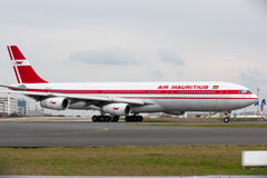 A340 Air Mauritius Photo stock
