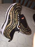 Air max 97 QS Germany Country Pack Shoes designer Nike trainers sneakers new. Air max 97 QS Stock Photos