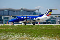 Air Moldova Embraer EMB-120 Stock Images