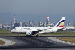 Free Air Moldova Plane Taxiing In Vienna Airport, VIE Stock Photos - 153200893