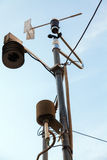 Air monitoring station Stock Images