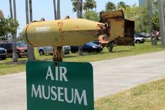 Air museum sign Stock Photos