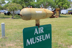 Air museum sign Stock Images
