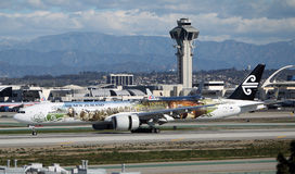 Air New Zealand Боинг 777-319/ER стоковое фото rf