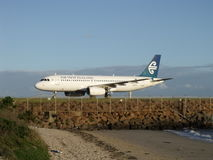 Air New Zealand A320 Lizenzfreie Stockbilder