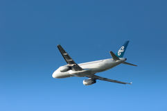 Air New Zealand A320 Fotografie Stock Libere da Diritti