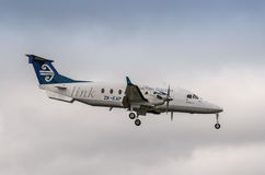 Air New Zealand Beechcraft 1900D Royalty Free Stock Image