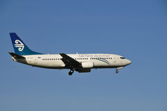 Air New Zealand Boeing 737 Images libres de droits