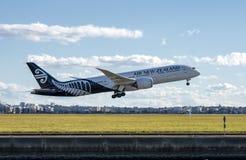 Air New Zealand Boeing 787-9 Dreamliner Fotografia Stock Libera da Diritti
