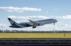Air New Zealand Boeing 787-9 Dreamliner royalty free stock photography