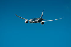 Air New Zealand Boeing 787-9 in flight Royalty Free Stock Image