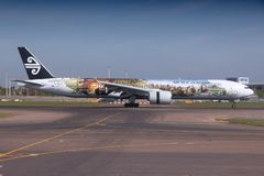 Air New Zealand Royalty Free Stock Images